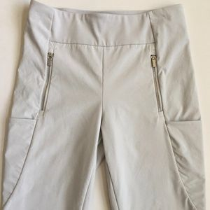 Athleta Leggings with Side Zip and Cargo Pockets